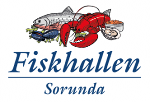 Fiskgrossist - Fiskhallen Sorunda AB logotype